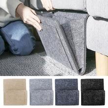 Keçe başucu depolama organizatör kaymaz başucu çanta yatak kanepe yan çantası asılı kanepe depolama yatağı tutucu cepler