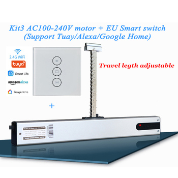220V Chain Adjustable Window actuator Wifi Automatic Open Skylight Motor Greenhouse Drive Alexa Google Remote control - discount item  5% OFF Building Automation