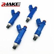 ZHAKE 4X Fuel Injector Nozzle23250-0D050 23209-0D050 23250-22080 23209-22080 For Matrix Corolla Pontiac Vibe 1.8L 1ZZFE 2325022080 2320922080  232500D050 232090D050 Original Injetor 1800CC zhake 4x fuel injector original 23250 15040 for vios 4a fe 5a 7a 8a 2325015040 23209 15040 2320915040 fuel injection nozzles