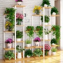 10 Layer Creative Flower Stand Potted Flower Pot Stand Plant Shelf подставка для цветов Garden Balcony Living Room Decor