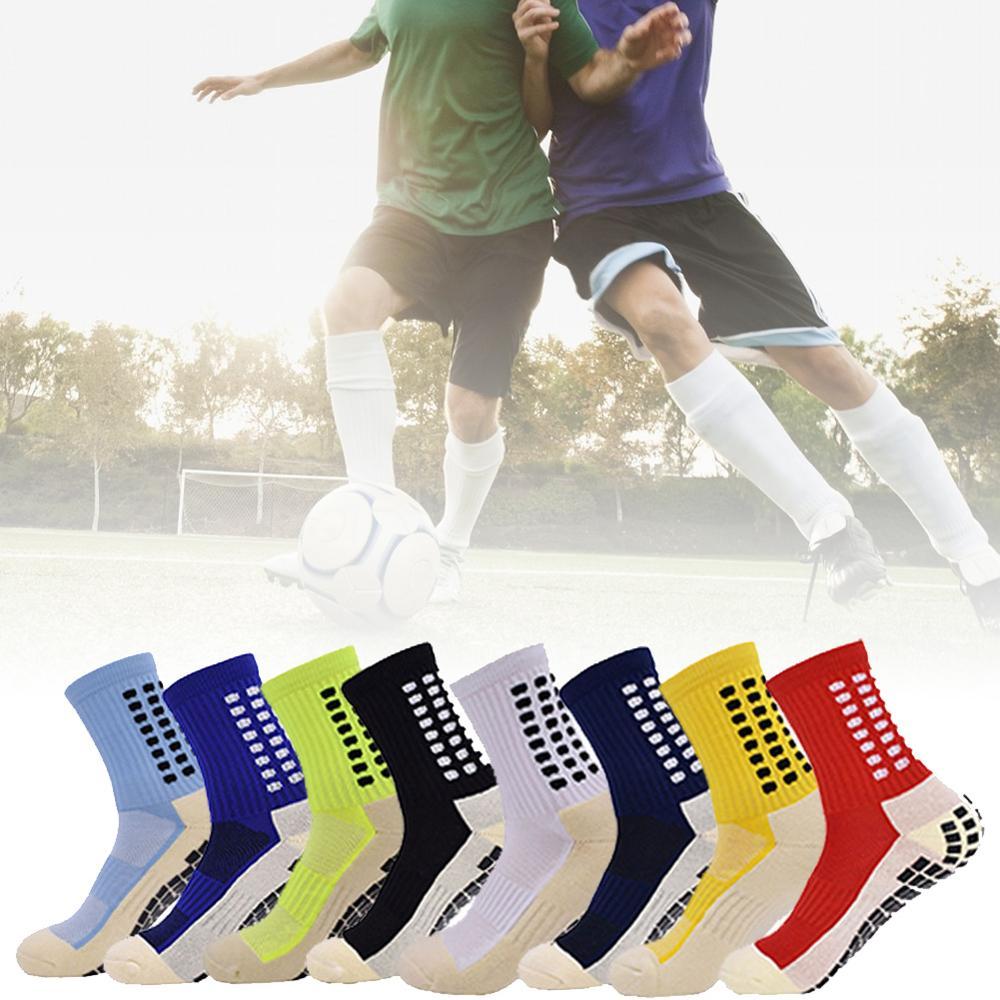 Новинка, футбольные носки, противоскользящие футбольные носки, мужские спортивные носки, хорошее качество, хлопок, Calcetines, такой же тип, как у...