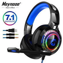 7.1 Sound Headphones Gamer With Light Mic Gaming Headset Stereo Earphones Deep Bass For PC Computer Laptop PS4 X-BOX ihens5 k2 usb 7 1 channel sound stereo gaming headphones over ear gamer headphone headset with mic led light for computer pc ps4