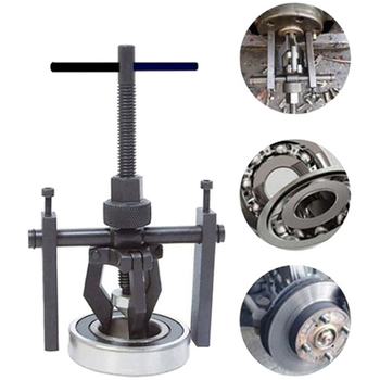 Car Auto Carbon Steel 3-jaw Inner Bearing Puller Gear Extractor Heavy Duty Automotive Machine Tool Kit Fine quality