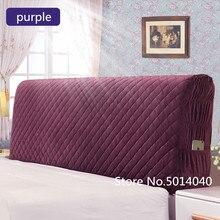 สไตล์นอร์ดิกเตียง120 220ซม.รวมผ้าComfortersฝุ่นยืดหยุ่นคู่หัวเตียงป้องกันฝาครอบ