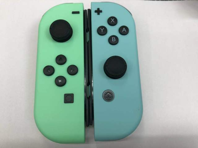 90% new Original Refurbished Blue L Left and Red R Right JoyCon Controller For NS Nintend Switch Joycon Gamepad Joystick
