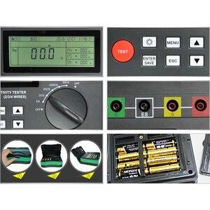 Image 4 - DUOYI testeur numérique de terre, DY4300, testeur numérique de résistance au sol, mégère, mégohmmètre, composante de résistance du sol, 0 ~ 20.99 kΩ