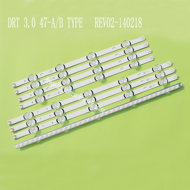 "LED Backlight Strip 9หลอดไฟสำหรับLG 47 ""ทีวีDRT 3.0 47"" 47LB631V 47LB6300 47GB6500 47LB652V 47lb650v LC470DUH 47LB5610 47LB565V"