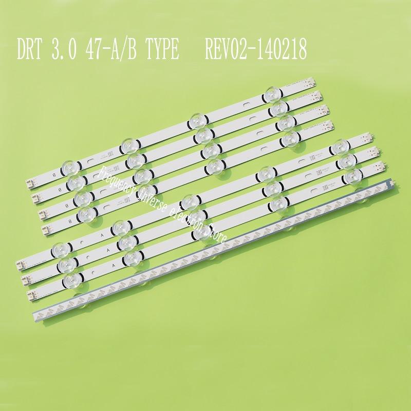 LED Backlight strip 9 Lamp For LG 47inch TV DRT 3 0 47inch 47LB631V  47LB6300 47GB6500 47LB652V 47lb650v LC470DUH 47LB5610 47LB565V