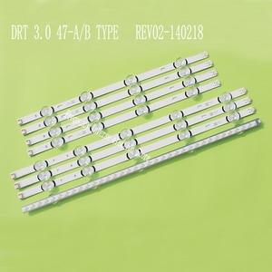 """Image 1 - LED arka ışık şeridi 9 lamba için LG 47 """"TV DRT 3.0 47"""" 47LB631V 47LB6300 47GB6500 47LB652V 47lb650v LC470DUH 47LB5610 47LB565V"""
