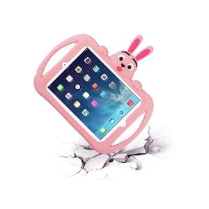 Image 4 - Coque antichoc en silicone pour enfants, pour IPad 2 3 4, coque de tablette Apple IPad mini 1 2 3, coque de dessin animé mignon