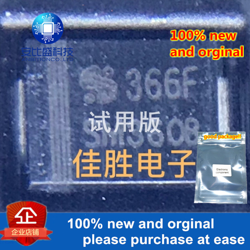 20pcs 100% New And Orginal SeCoS 3A60V DO214AA Silk-screen SM360B  In Stock