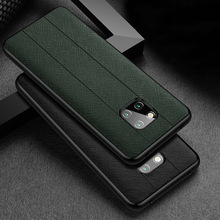 Fashion Genuine Leather & Silicone Back Case For Huawei Mate 20 Pro X RS Porsche Design 20X 5G Case Slim Shockproof Phone Cover