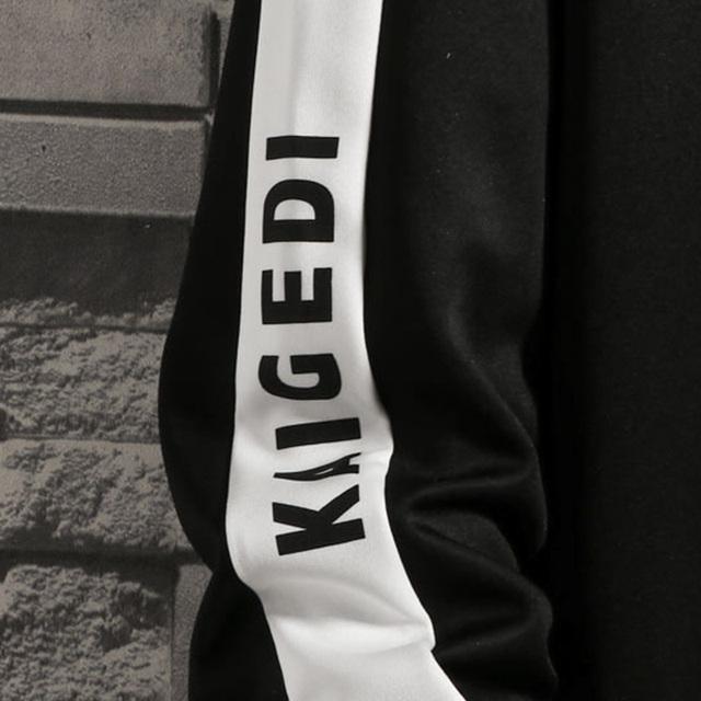 Hoodies Men Fashion Patchwork Long Sleeve Sweatshirts Mens Women Streetwear Unisex Hoody Man Clothing Long Sleeve Outwear 3XL4XL
