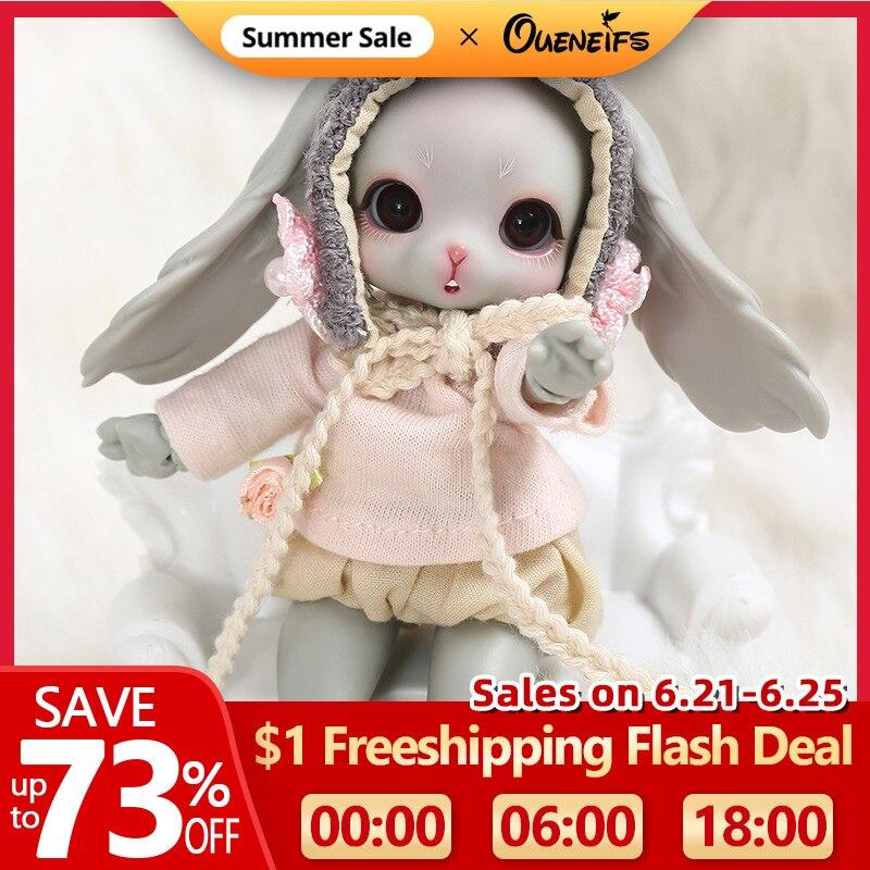 Mewu BJD YOSD Doll 1/8 Rabbit Version Body Model High Quality Fashion shop Sweeter Girl Gift