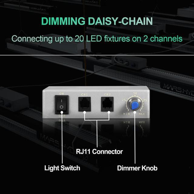 Sale! Mars Hydro SP 3000 6500 Samsung LM301B LED Grow Light Full Spectrum Best for Plant Veg / Flower 3