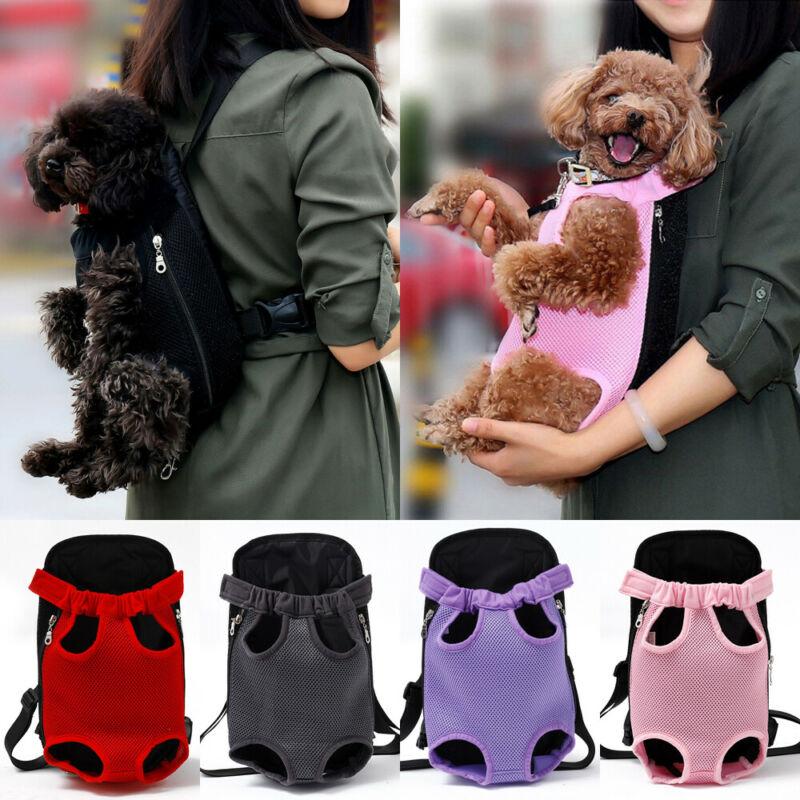 2020 verão cão portador mochila gato filhote de cachorro pet frente/volta ombro carry sling bolsa moda filhote de cachorro gato portadores 4 tamanho S-XL