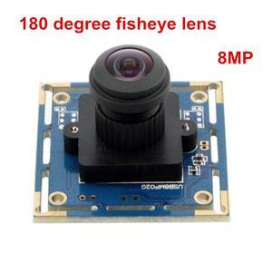 ELP 180 градусов объектив рыбий глаз 8MP 3264X2448 4K промышленная камера с датчиком Sony IMX179