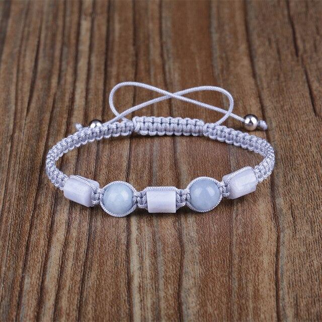 Hand-woven micro macram\u00e9 earrings