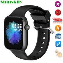 2021 W36 Смарт-часы для мужчин вызовов через Bluetooth Полный сенсорный экран, с экраном сердцебиения, умные часы для женщин музыкальный плеер для ...
