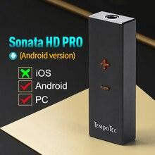 مضخم ضوت سماعات الأذن TempoTec سوناتا HD برو CS43131 نوع C إلى 3.5 مللي متر DSD256 للهاتف أندرويد والكمبيوتر ماك DAC USB C المحمولة HiFi