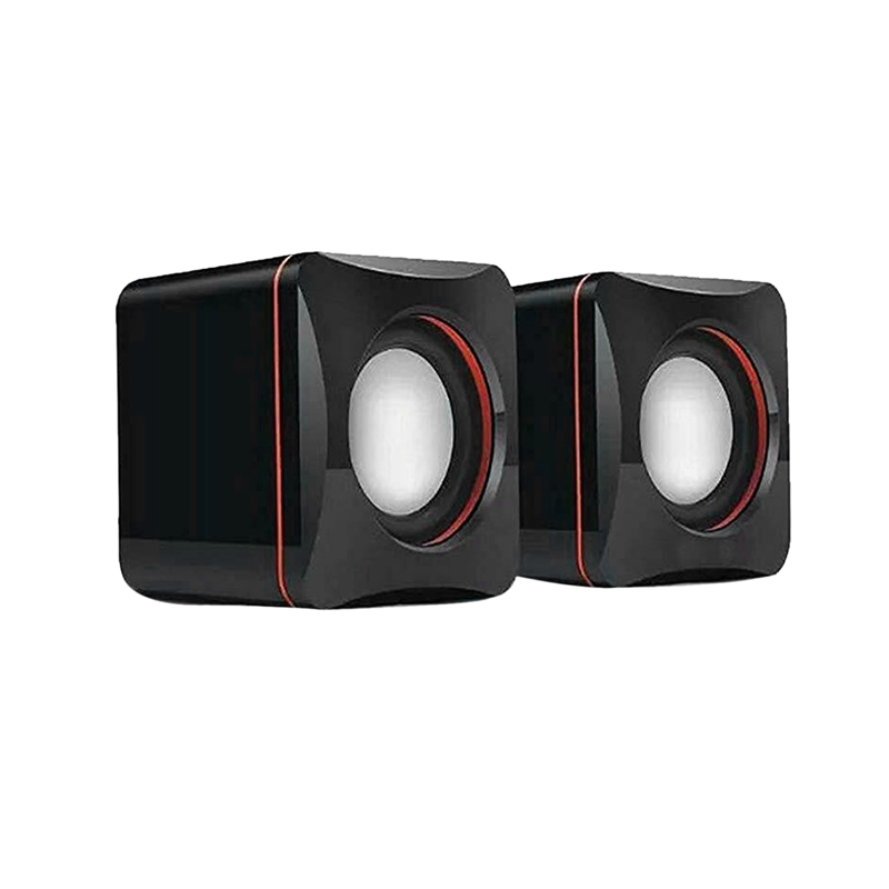 Top Portable Computer Speakers USB Powered Desktop Mini Speaker Bass Sound Music Player System Wired Small Speaker