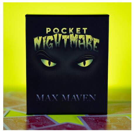 Pocket Nightmare By Max Maven, Magic Tricks , Magic Instruction,not Props