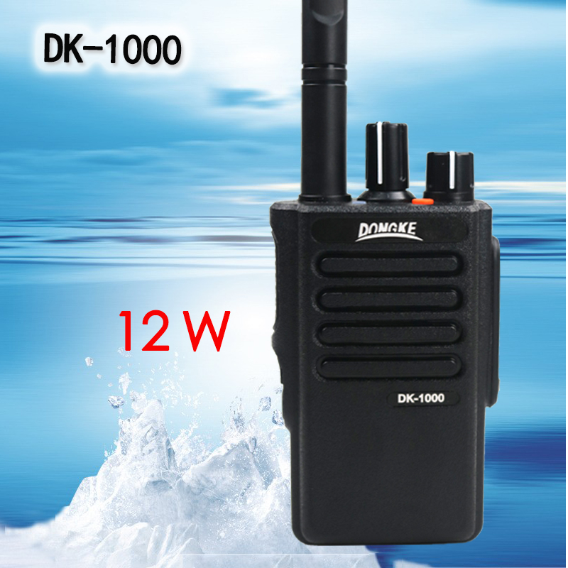 DK-1000 Professional Walkie Talkie Radio Station Handy ham Radio Transceiver Two Way Radio Communicator Walkie-Talkie