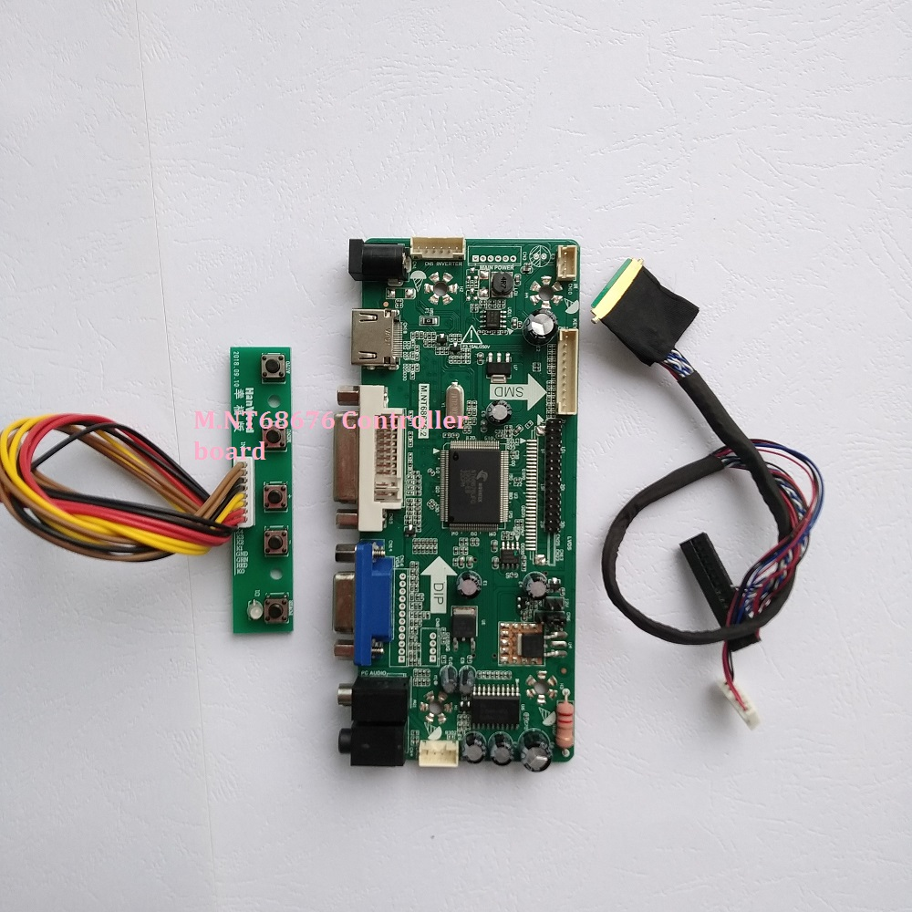LCD LED screen Controller Driver Board kit for LP173WD1-TLE1 TV+HDMI+VGA+USB