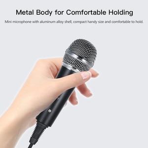 Image 5 - Kit de microfone de vídeo mikrofon com mini tripé de microfone montagem de choque pop filtro adaptador de pára brisa cabo 3.5mm plug