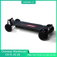 CHICWAY-monopatín eléctrico de cuatro ruedas S7, suspensión independiente, cuatro unidades, suspensión de alta intensidad, 24A, 50 km/h + Bajaboard