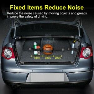 Image 5 - Organizer per bagagliaio per Auto borsa di fissaggio per cintura nastri magici accessori per Auto per Auto stivaggio riordino Car styling Organizer per Auto