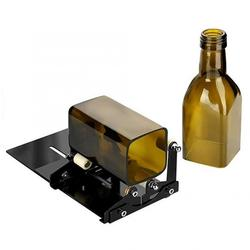 Glass Bottle Cutter Professional Glass Cutter Square and Round Adjustable Wine Bottles Cutting Tool