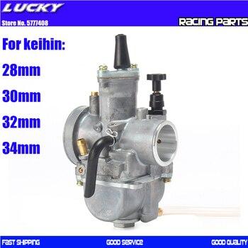 Carburador de motocicleta PWK 28 30 32 34 mm con chorro de potencia para motocicleta Keihin Koso de 2T/4T