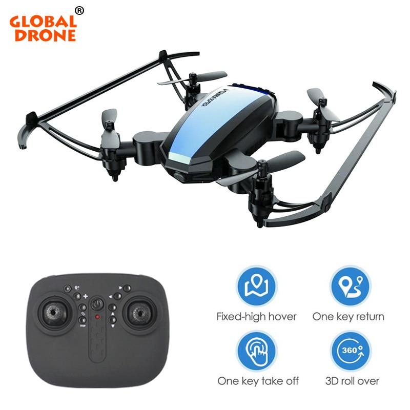 العالمية Drone مصغرة الطائرات بدون طيار مع كاميرا HD طوي Dron روتردام هليكوبتر بدون طيار X برو Quadrocopter-في طائرات هليوكوبترتعمل بالتحكم عن بعد من الألعاب والهوايات على  مجموعة 1