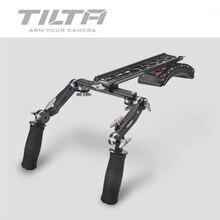 Tilta TT 0506 15mm/19mm כתף הר מערכת עם קדמי לחיצת יד ידית ערכת עבור סקרלט/אדום אחד MX/AlEXA מיני מצלמה rig