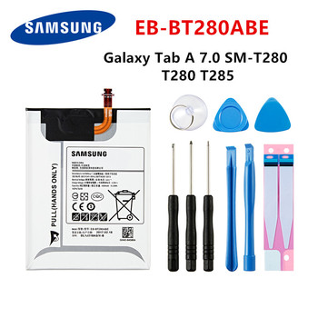 SAMSUNG Orginal Tablet EB-BT280ABE 4000mAh battery For Samsung Galaxy Tab A 7.0 SM-T280 T280 T285 Tablet Battery +Tools for samsung galaxy tab a 7 0 sm t285 case fashion tablet silicon leather funda for samsung galaxy tab a 7 0 t280 t285 sm t280