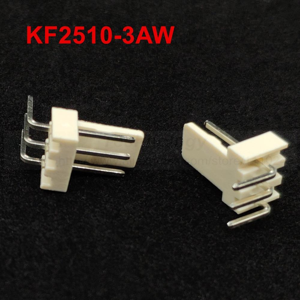 50*Housing Connector Kits Neu 50Stks KF2510-3P 2.54mm Pin Header 50*Terminal