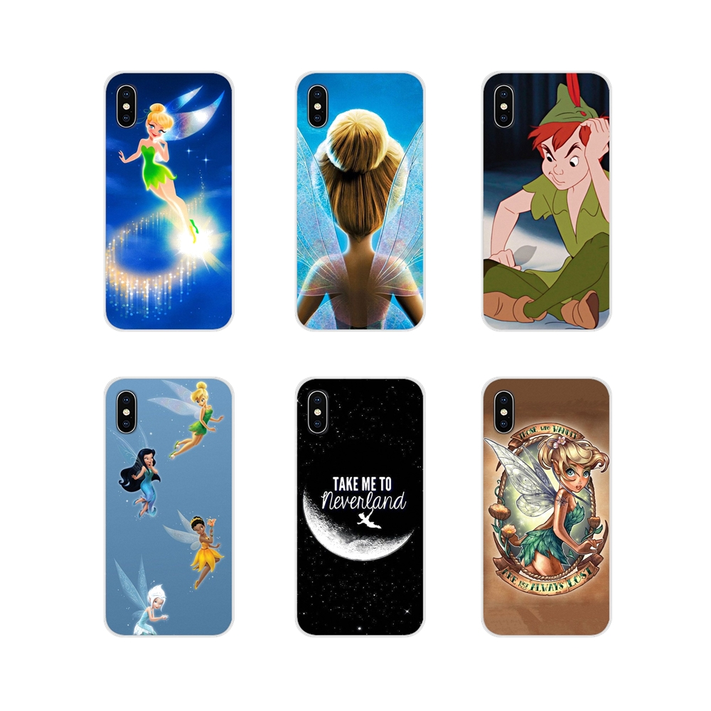 Cases Shell Pocophone F1 Tinkerbell Xiaomi Redmi Plus Transparent 6A For 4A S2 Note 3