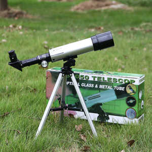Image 5 - Telescopio astronómico para exteriores Zoom HD de alta calidad, Monocular, con trípode portátil, mira telescópica de 360/50mm