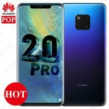 オリジナルhuaweiメイト20プロの携帯電話6.39インチoledキリン980オクタコア防水IP68 40MP 4カメラquickcharge