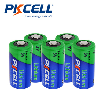 5Pcs Pkcell CR123A 3V Battery Lithium Li- MnO2 battery Equal CR123 123A CR17345 KL23a VL123A DL123A 5018LC EL123AP batteries 12pcs pkcell lithium battery cr123a cr 123a cr17345 16340 cr123a 3v non rechargeable batteries for camera gas meter primary dry