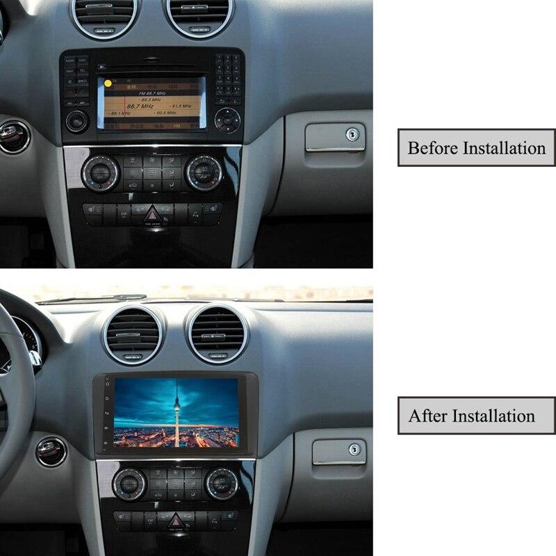 9 pouces Android 9.0 2 + 16G voiture GPS Navigation 4 Core multimédia lecteur Bluetooth Autoradio pour mercedes-benz GL ML classe W164 ML35 - 3