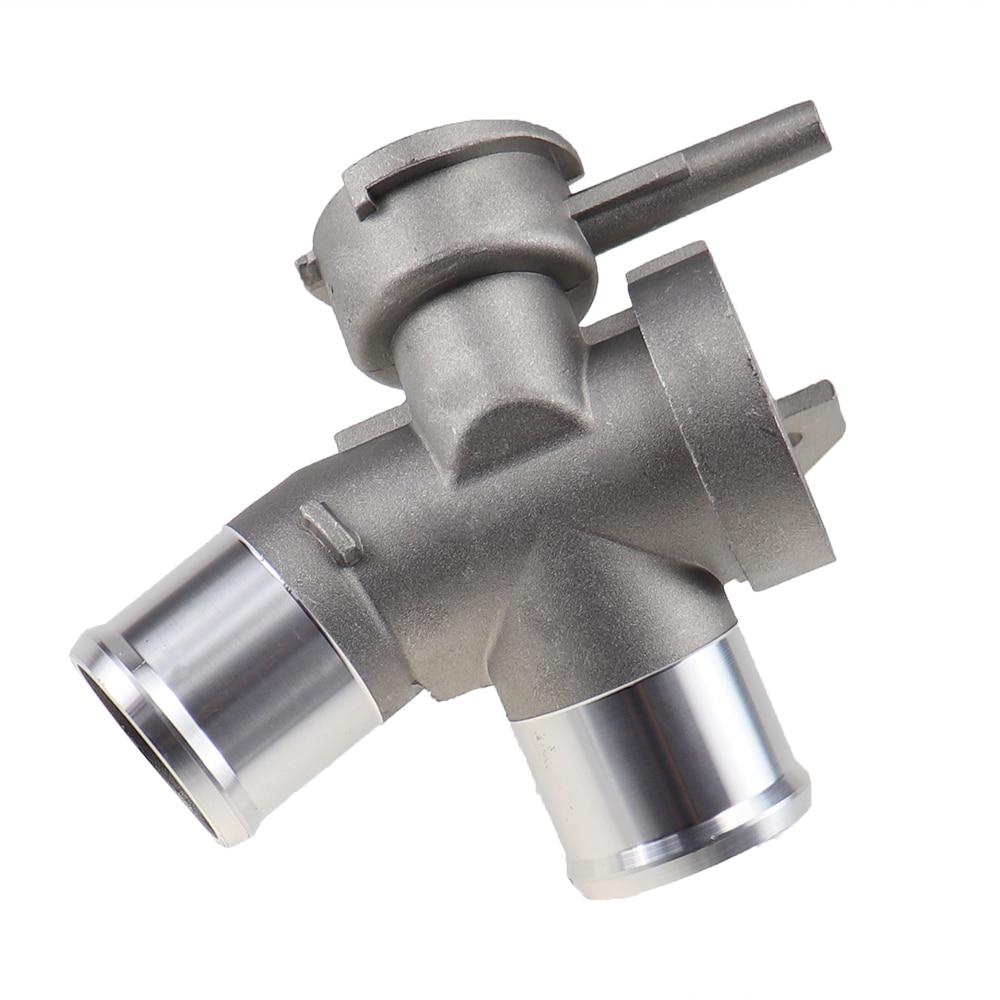 Verbesserte Aluminium Motor ROHR-SUB Heizkörper Füllstoff Neck Kühlmittel Thermostat Gehäuse Wasser Rohr Fit für Nissan Teana 21517-JN20A