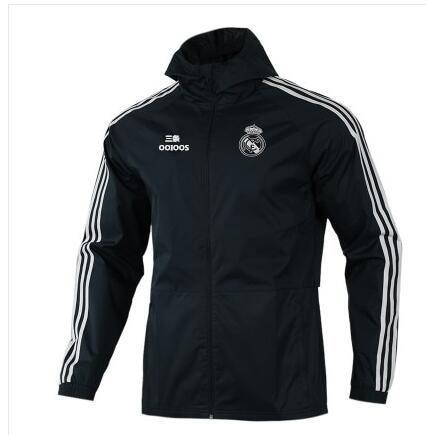 Real Madrid Football Uniform Men's Sports   Trench   Coat Cw8642