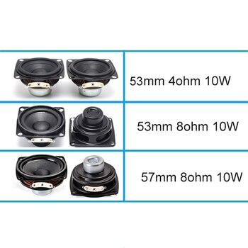 2 Inch Audio Full Range Computer TV Speaker 4 Ohm 10W PC Sound Bluetooth DIY Soundbox 53mm HIFI Music Portable Loudspeaker 2pcs 4