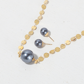 Ladies Casual Pearl Jewelry-Sets