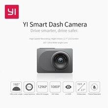 """YI 스마트 대시 카메라 비디오 레코더 WiFi 풀 HD 자동차 DVR 캠 나이트 비전 1080P 2.7 """"165 학위 카메라 녹음"""