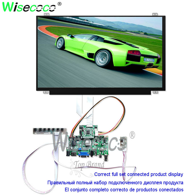 15.6 Inch 1920*1080p Full Hd Laptop Lcd Screen With Backlight Interface USB VFA HDMI Control Board Kit 60Hz