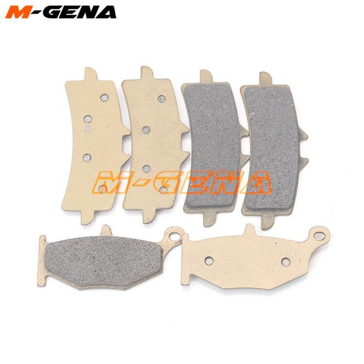 Передние и задние тормозные колодки для мотоцикла hayabusa GSXR1300 2013-2014-2015-2016