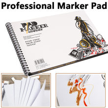 Marker Notebook Paper A5 A4 Practice Animation Supplies Durable Drawing Designers Manga Office Soft цена